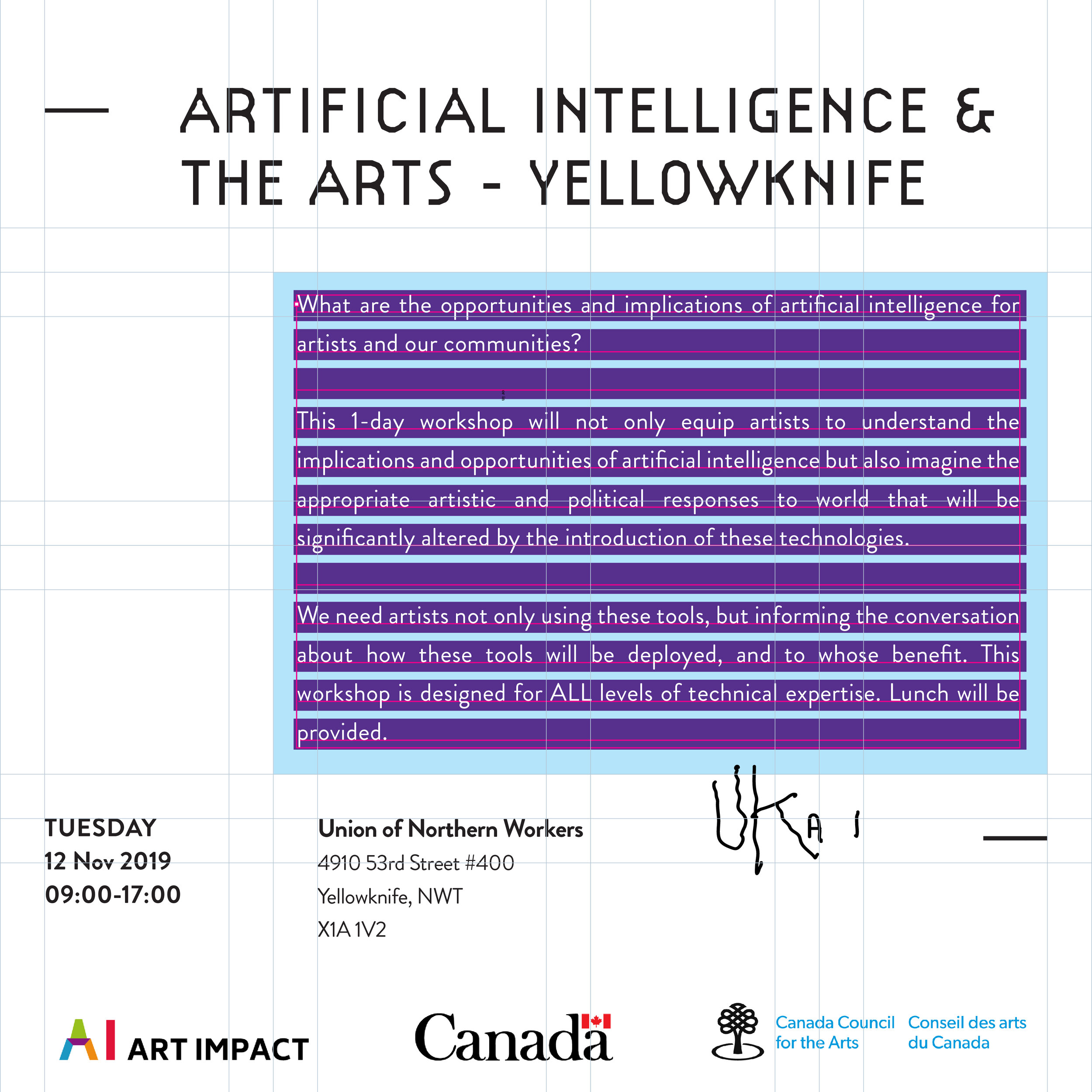 Artificial Intelligence and the Arts - NWT