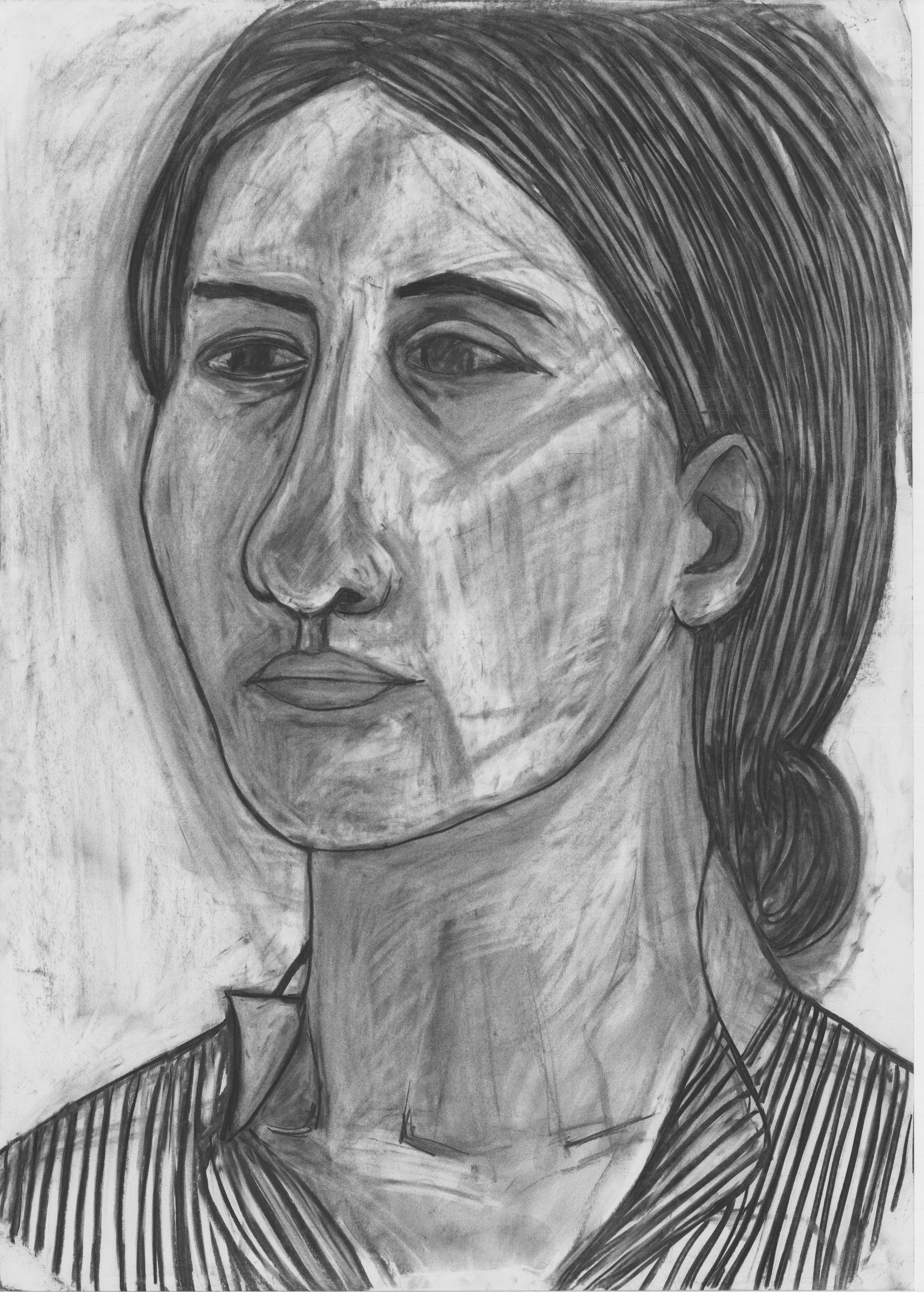 Carla (2017)  Charcoal on Paper