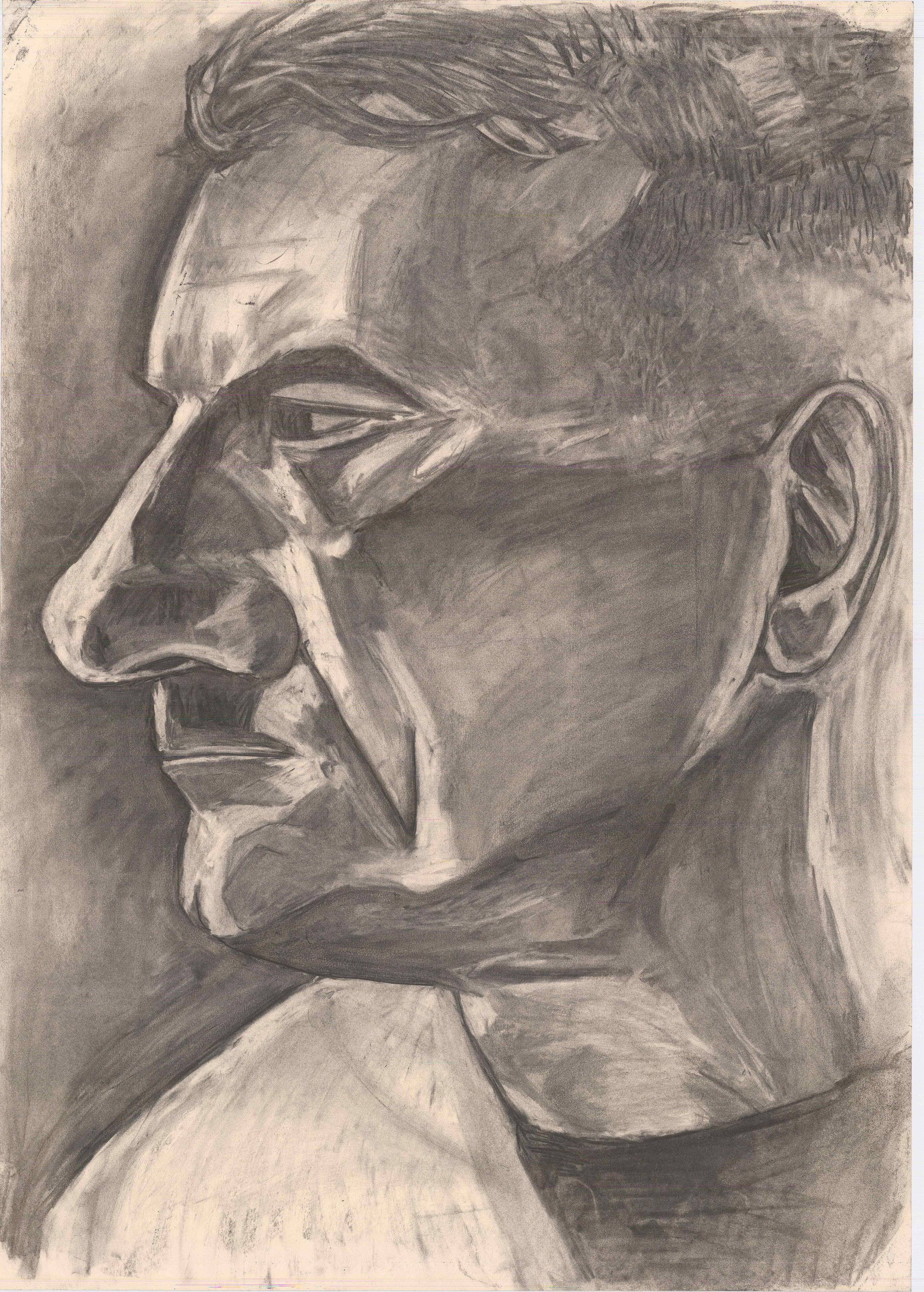 Alan (2017)  Charcoal on Paper