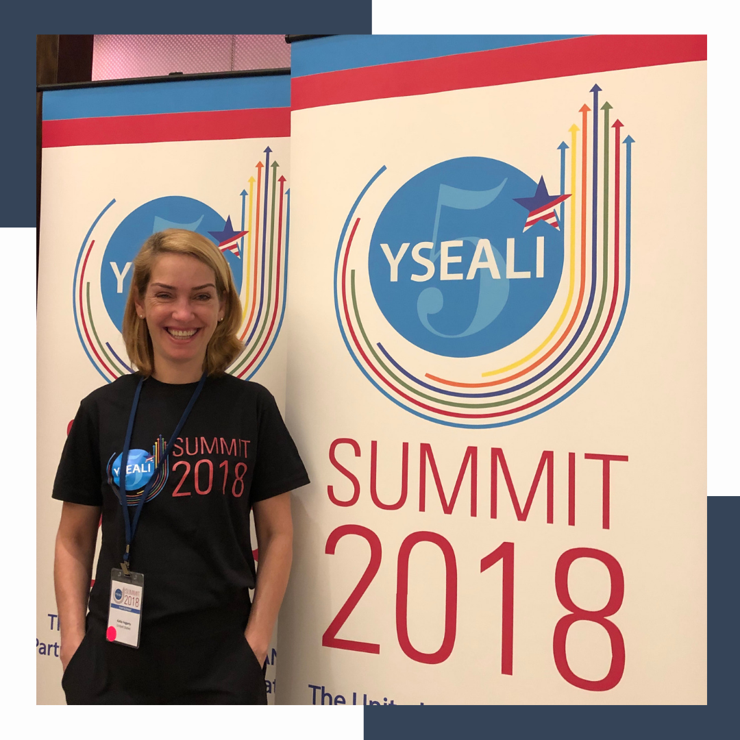 - Joining the Asia Foundation and State Department for the YSEALI Summit in Singapore