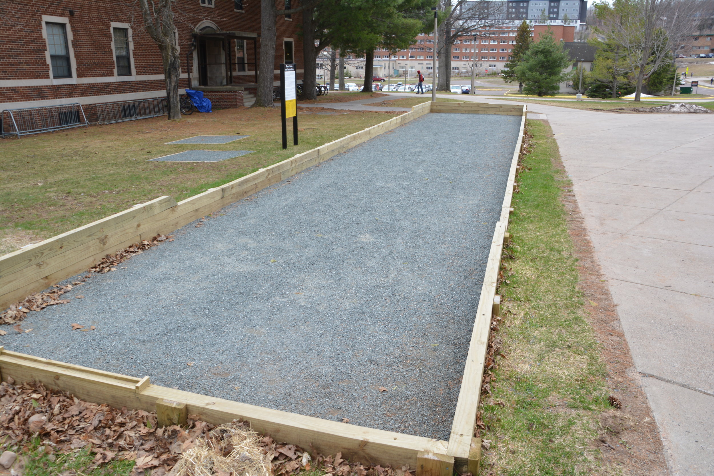 MTU Bocce Ball Court