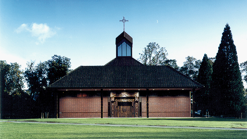 University of Portland Campus Chapel, in Collaboration with Pietro Belluschi