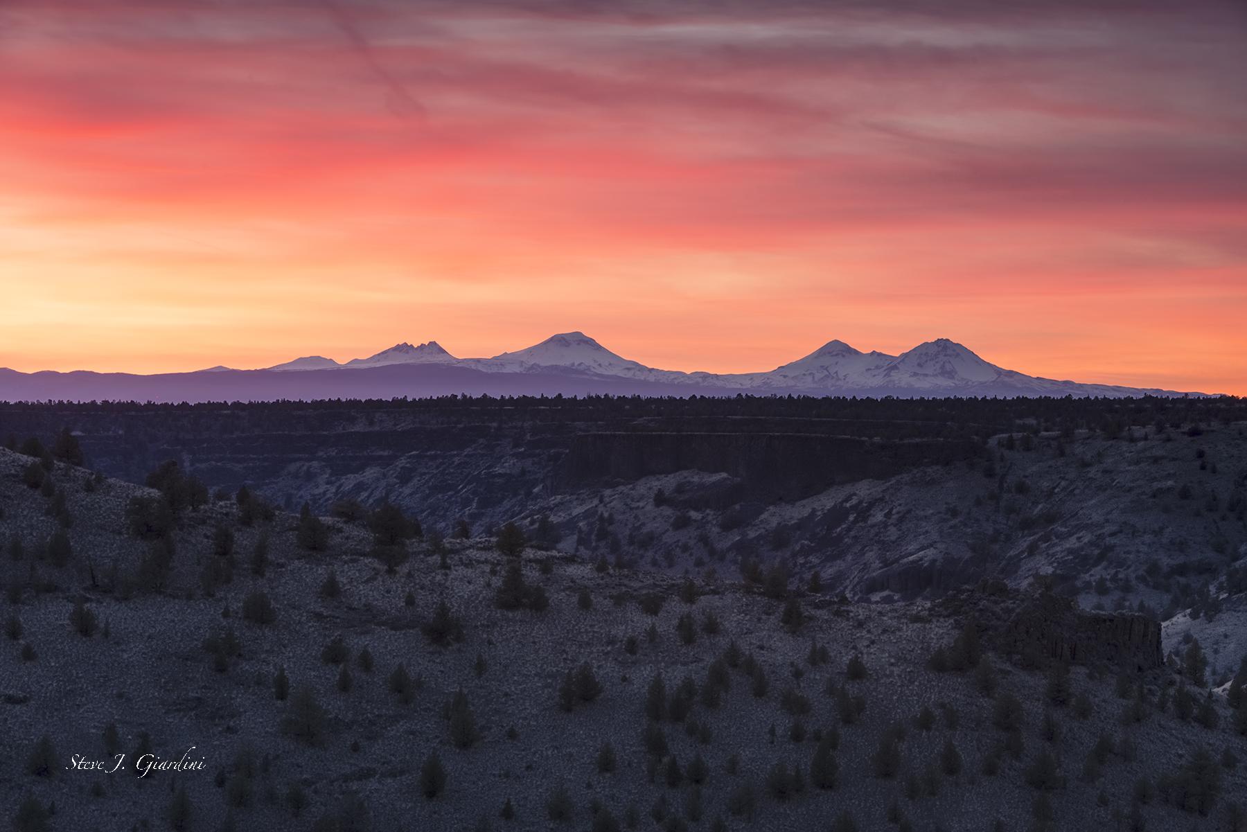 Chimney Rock Plateau Sunset 1810104LNND8