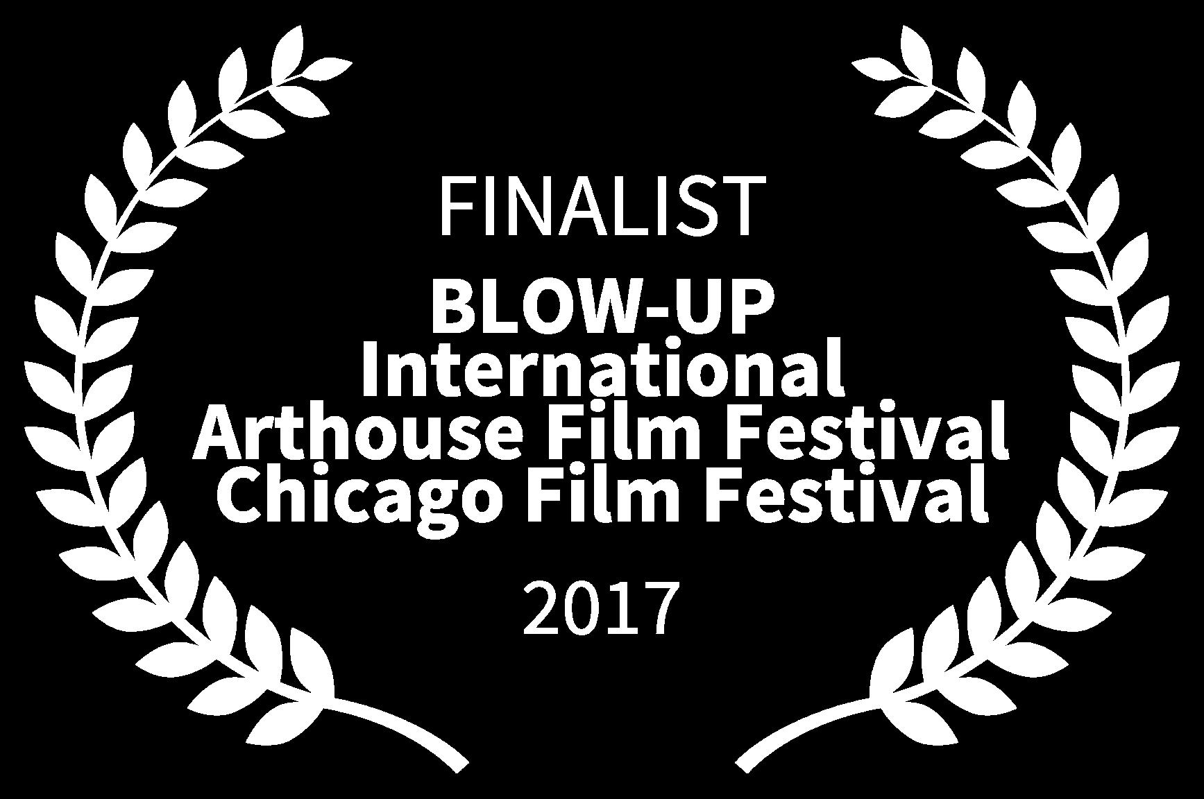 FINALIST - BLOW-UP International Arthouse Film Festival Chicago Film Festival - 2017.png