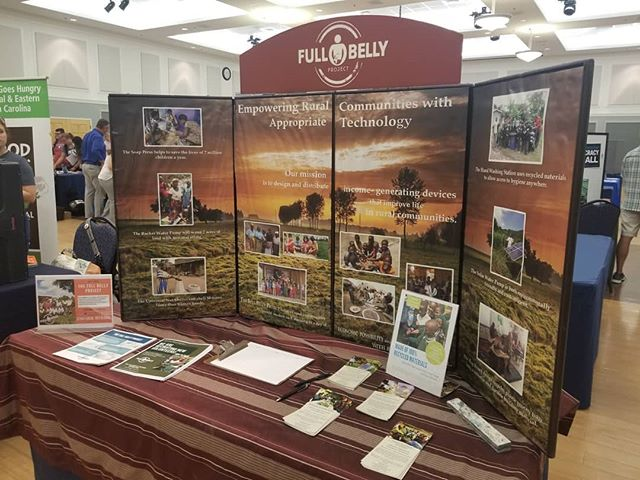 Come see The Full Belly Project at UNCWs Volunteer Fair! (Also, don't forget to RSVP for our fundraiser in October! More details are on our Facebook page, or feel free to email us at info@thefullbellyproject.org) #volunteal #uncw