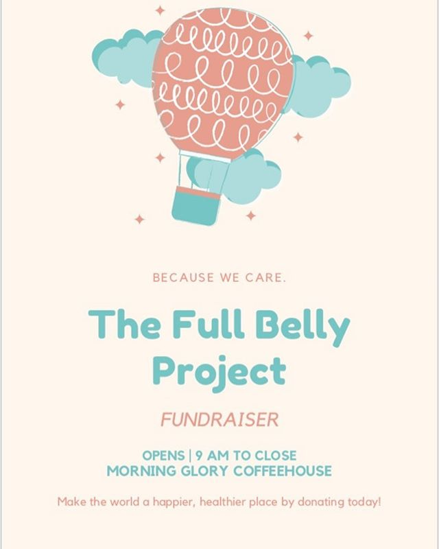 🚨ATTENTION🚨 The Full belly project's fundraiser is ONE week away! Make sure to mark your calendars because you do not want to miss out on your chance to make a difference! WE CAN change the world! Come on out and join us on October 18 at Morning glory Coffee house. More information in the post above! #makeadifference #thefullbellyproject #wedifferent