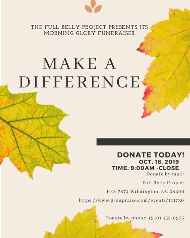 We are ONE day away from our fundraiser! It will be at Morning Glory coffee house tomorrow from 9 am to close! Don't forget to let them know you want to donate to The Full Belly Project ☕️ and if you can't make it out you CAN still donate! All of the info is down below so help us make the world a better place by donating today! #thefullbellyproject #everybodyeats #fbpcares #maketheworldabetterplace #donate