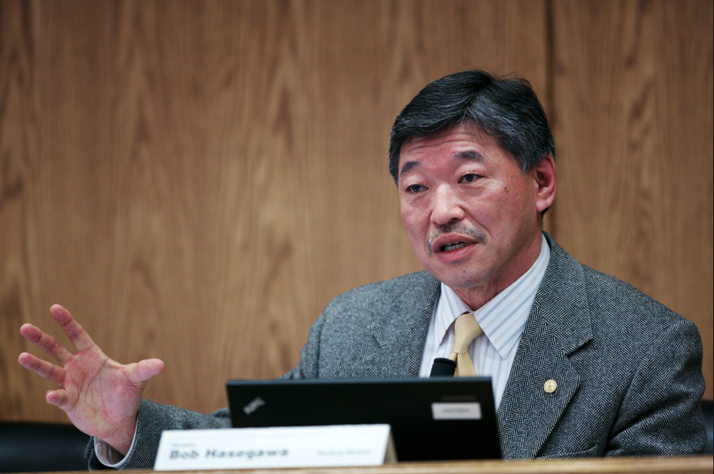 Senator Bob Hasegawa (11th LD) -
