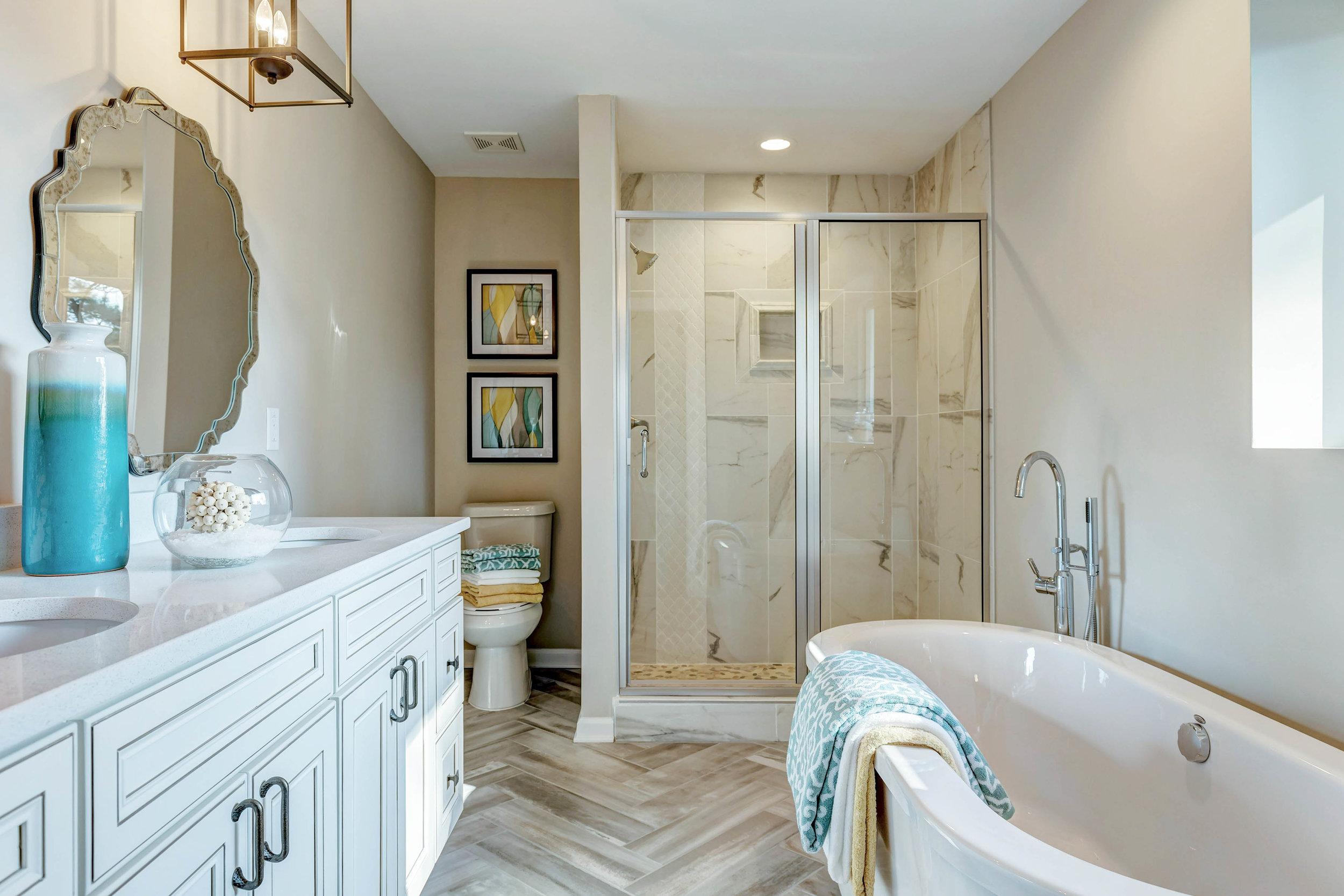 Master Bathroom Extension