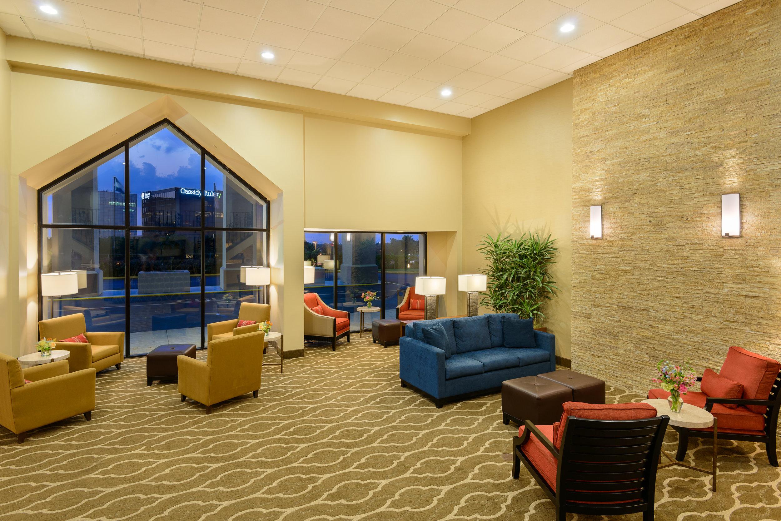 Comfort Inn Lobby Design