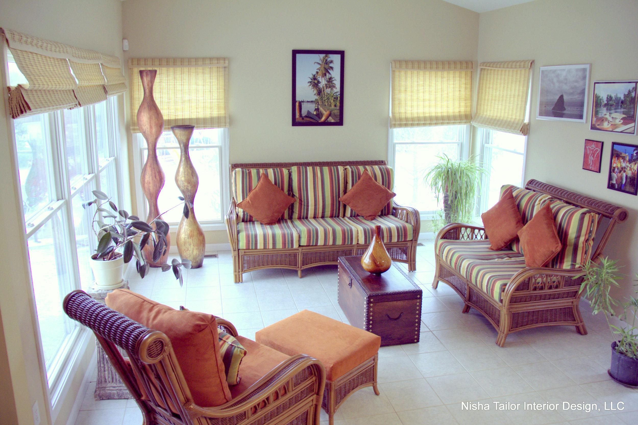 Tropical Sunroom Design