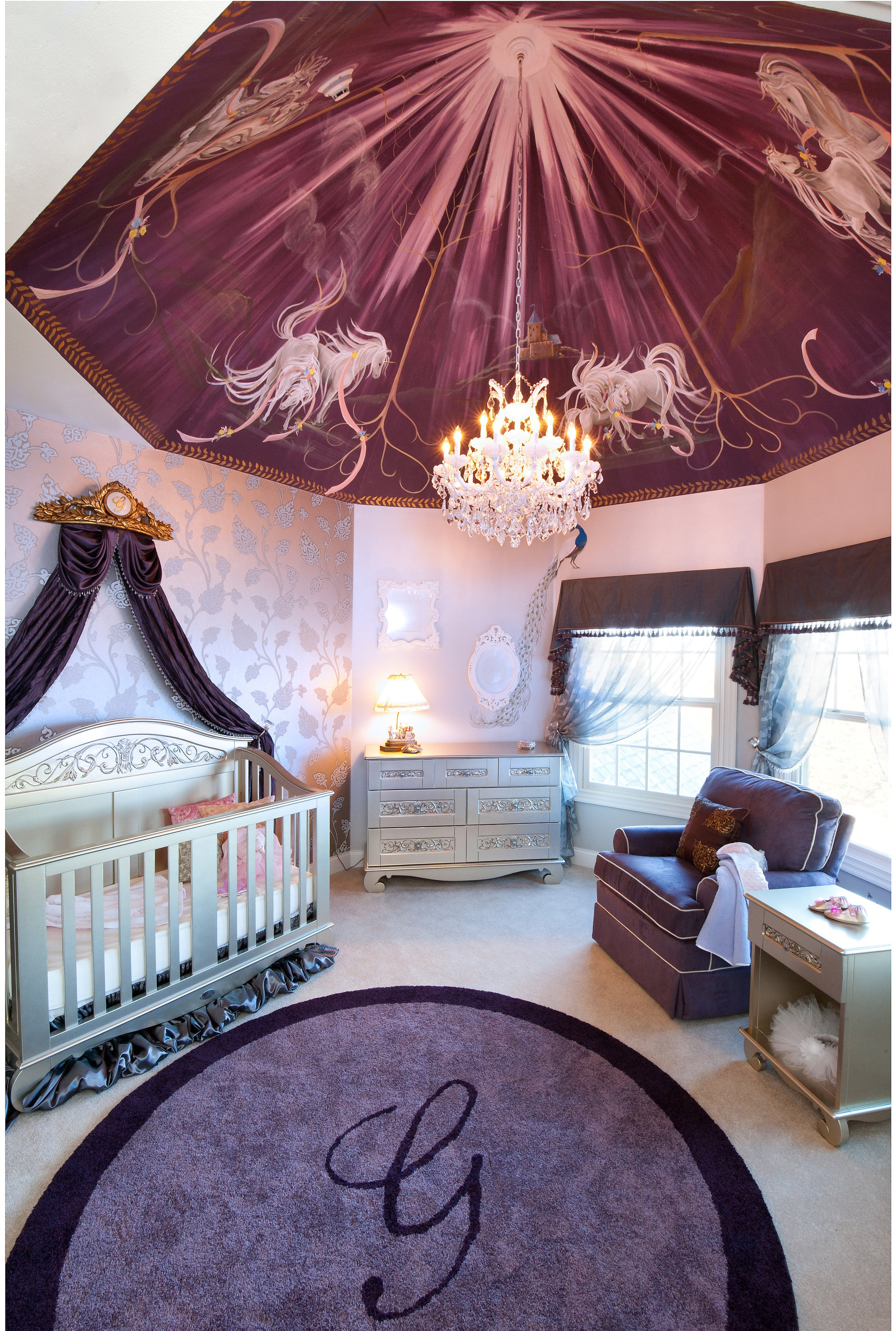 girl  nursery with ceiling mural (1).jpg
