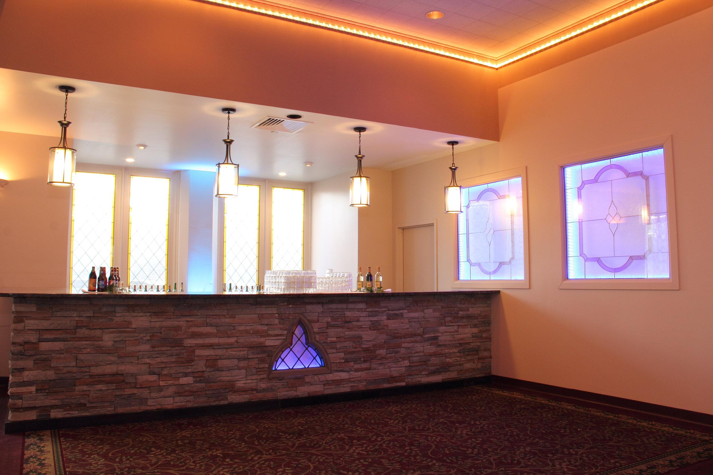 Francis Xavier Church Ballroom Bar Design