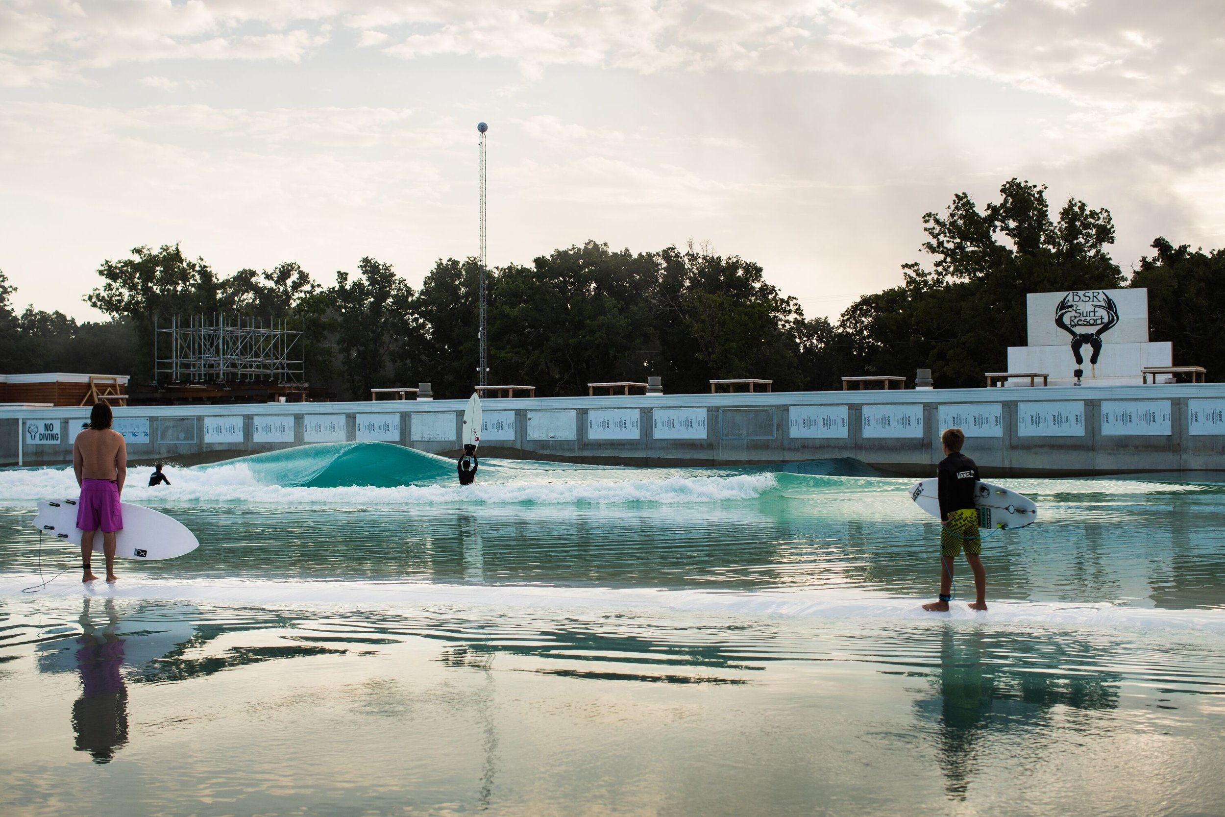 BSR Wave Park in Waco, Texas. PHOTO: Jimmicane
