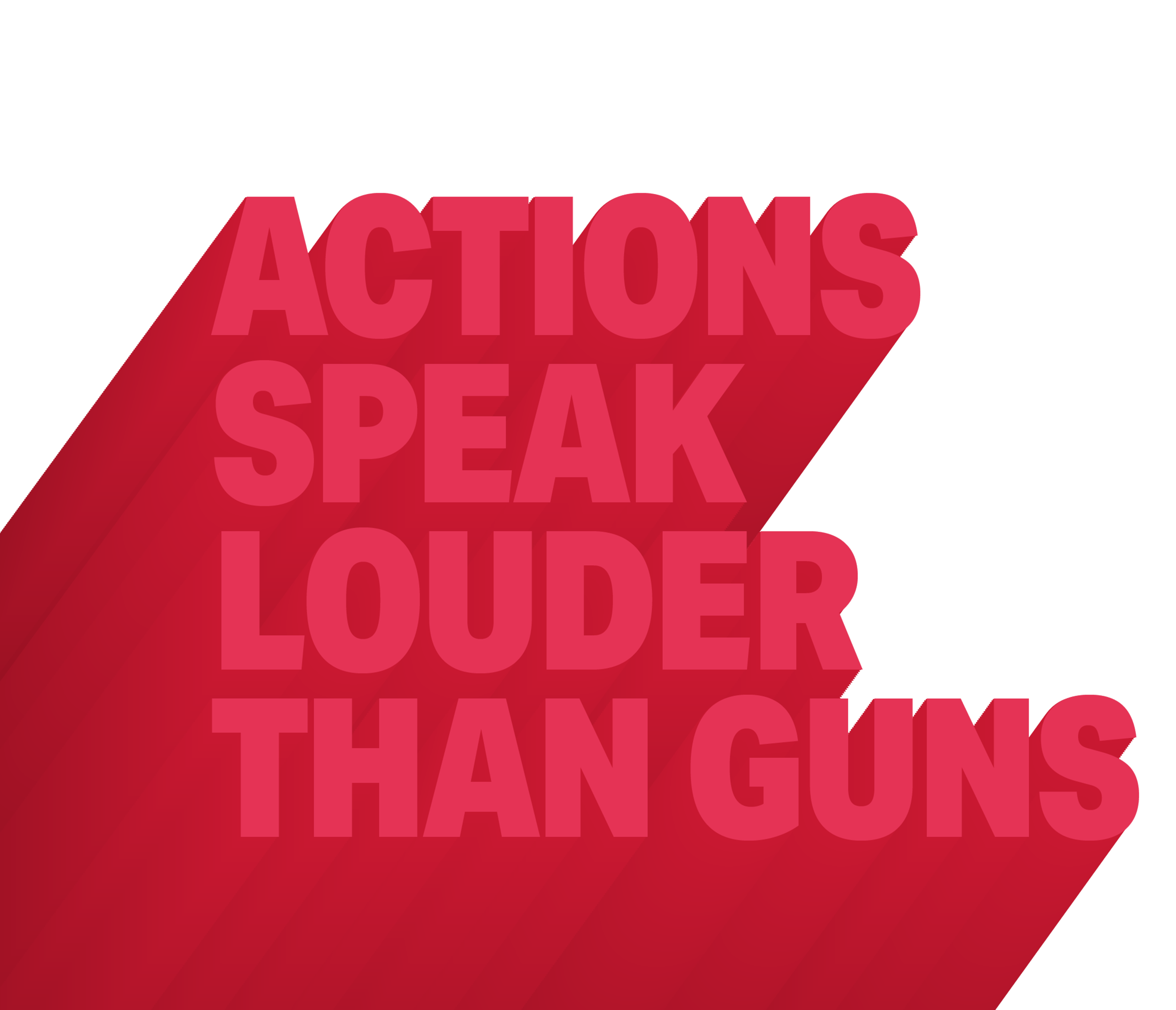 Together we can end gun violence. - On average, 100 people are killed by guns in the U.S. every day. L.A.'s young people will not accept this reality.