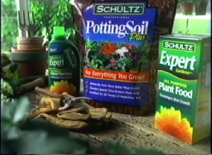 Schultz Plant Foods - commercial // A detailed product shot was possible with the help of key props and set dressing.