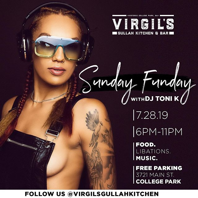 #SundayFunday @virgilsgullahkitchen with @djtonikworld! Come out for good food, strong drinks and cool vibes before heading back to work tomorrow! . . . . . . . . #ATL #Atlanta #Gullah #SoulFood #AtlantaRestaurant #AtlantaEats #Foodie #ATLEats #HappyHour #Cocktails #Dinner #Cocktails #AtlantaFood #AtlantaLife #AtlantaFoodie #Geechee #ATLFoodie #ATLFood #GullahGeechee #VirgilsGullahGeechee #ATLNights #AtlantaRestaurants #FoodPorn #Foodstagram #FoodGasm #InstaFood #GullahCulture #GullahFood #GeecheeEats