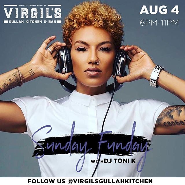 #SundayFunday with @djtonikworld! Let's let loose before heading back to work tomorrow!  Great food, strong drinks and friends today at Virgil's! . . . . . . . . . #ATL #Atlanta #Gullah #SoulFood #AtlantaRestaurant #AtlantaEats #Foodie #ATLEats #HappyHour #Cocktails #Dinner #Cocktails #AtlantaFood #AtlantaLife #AtlantaFoodie #Geechee #ATLFoodie #ATLFood #GullahGeechee #VirgilsGullahGeechee #ATLNights #AtlantaRestaurants #FoodPorn
