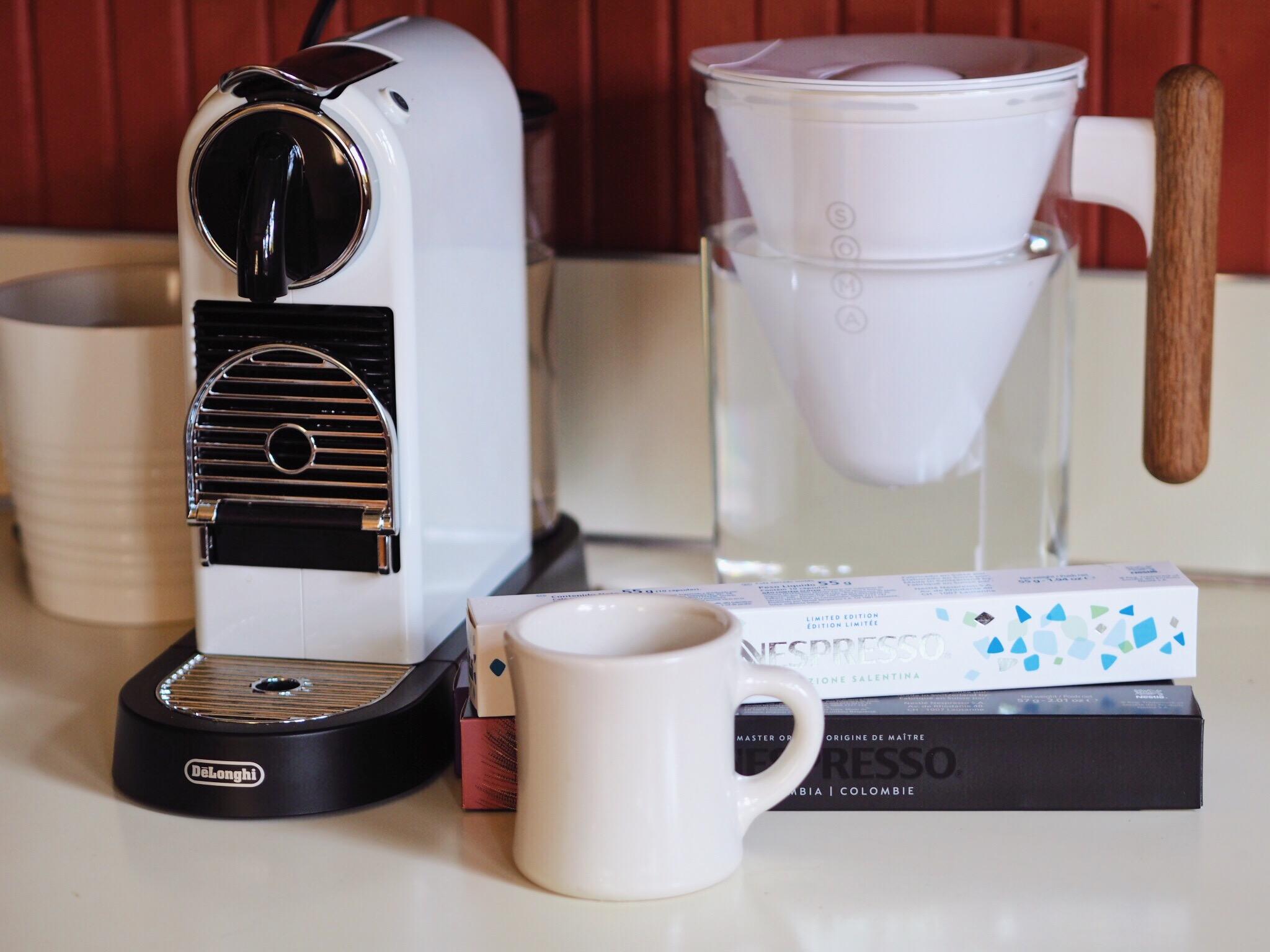 nespresso, coffee, gretchen has the floor