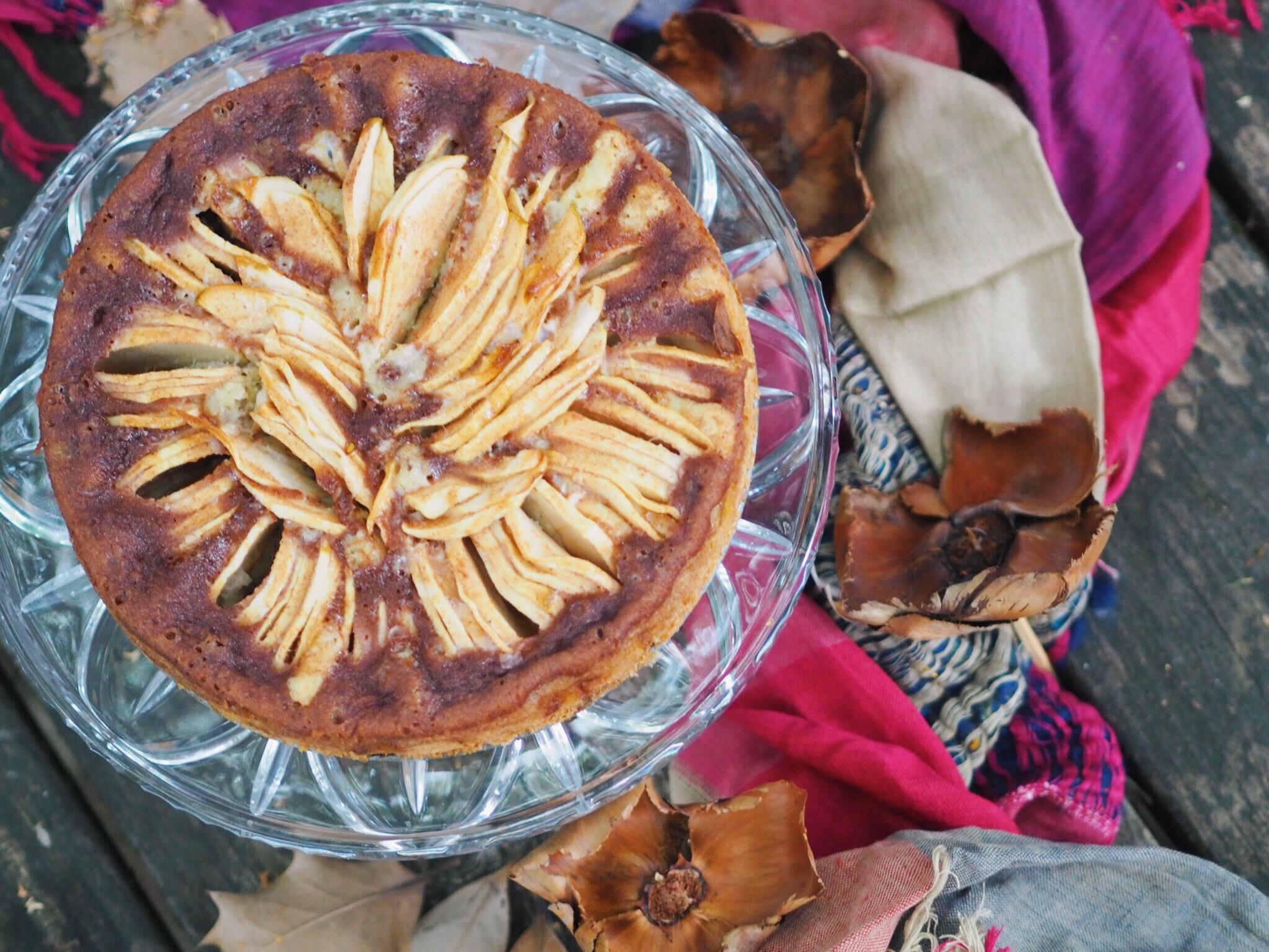 autumn, fall, apple cake