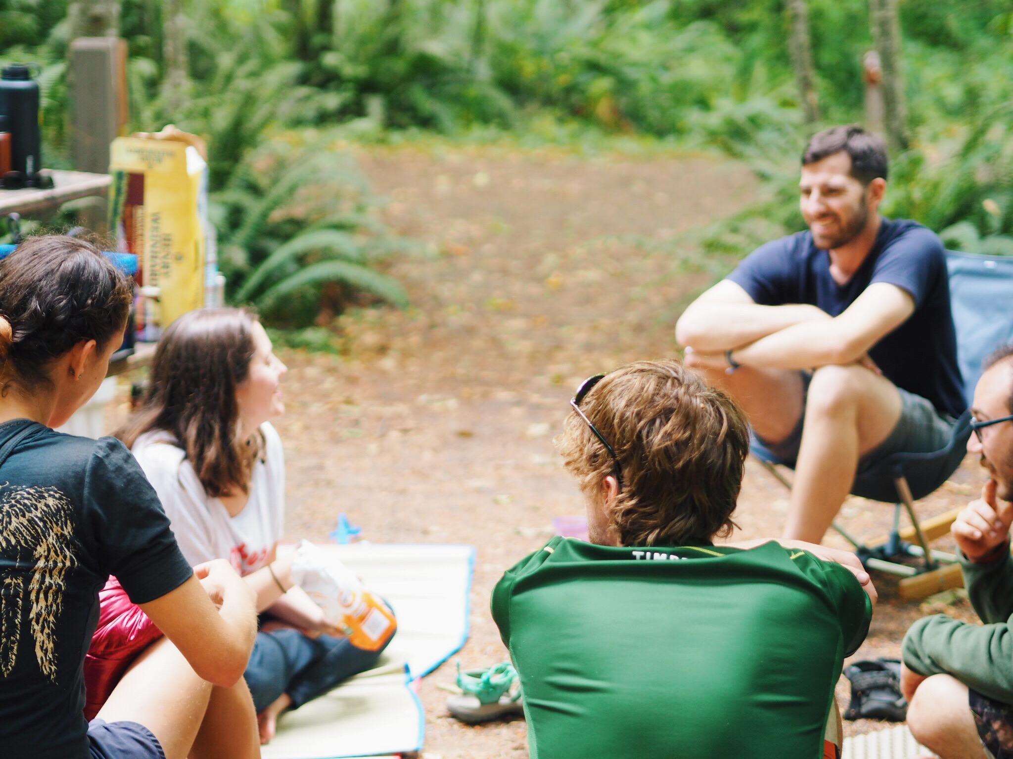 camping, oregon, friends
