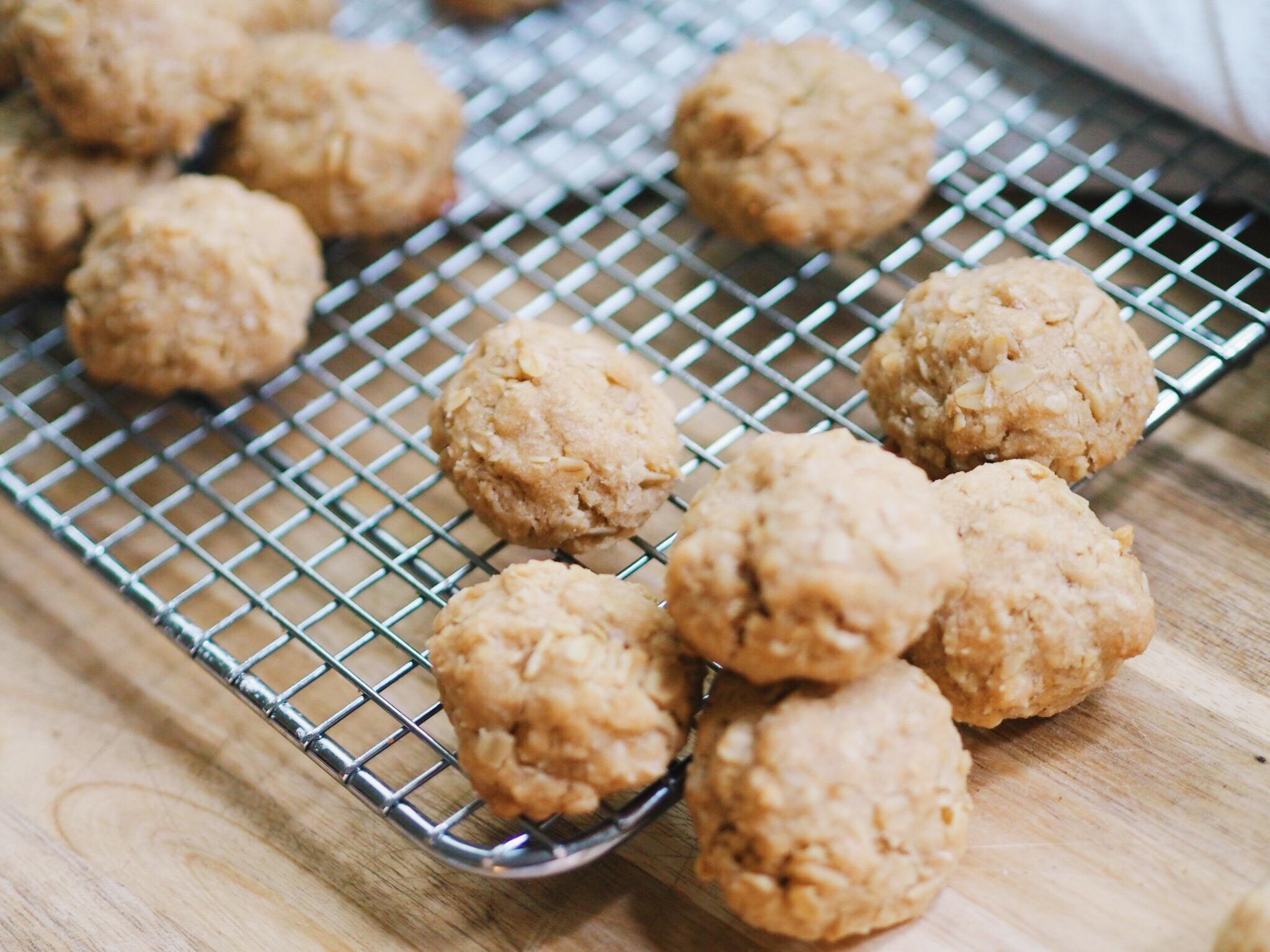 oatmeal cookies, recipe, baking