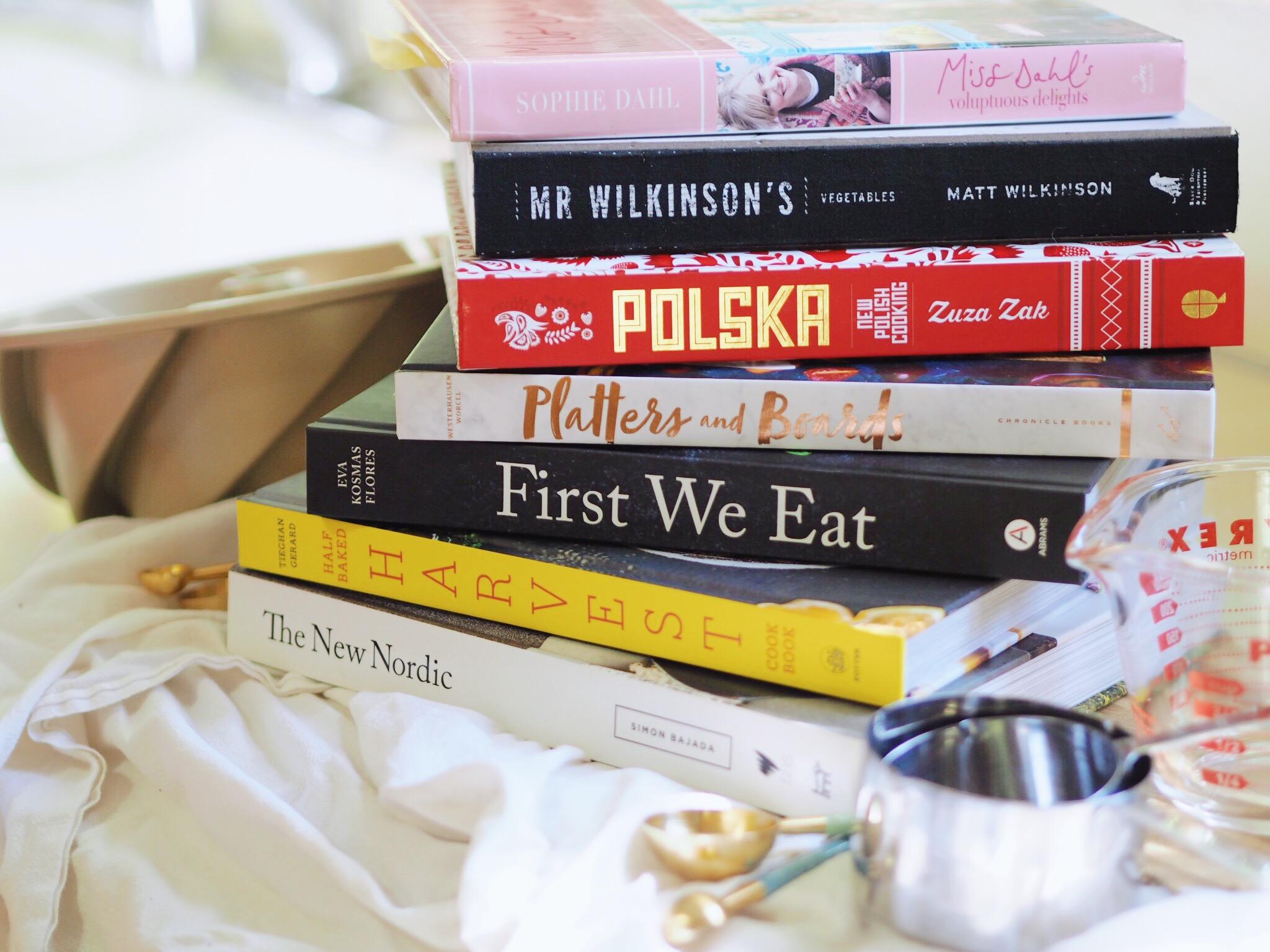 cookbooks, fall reading