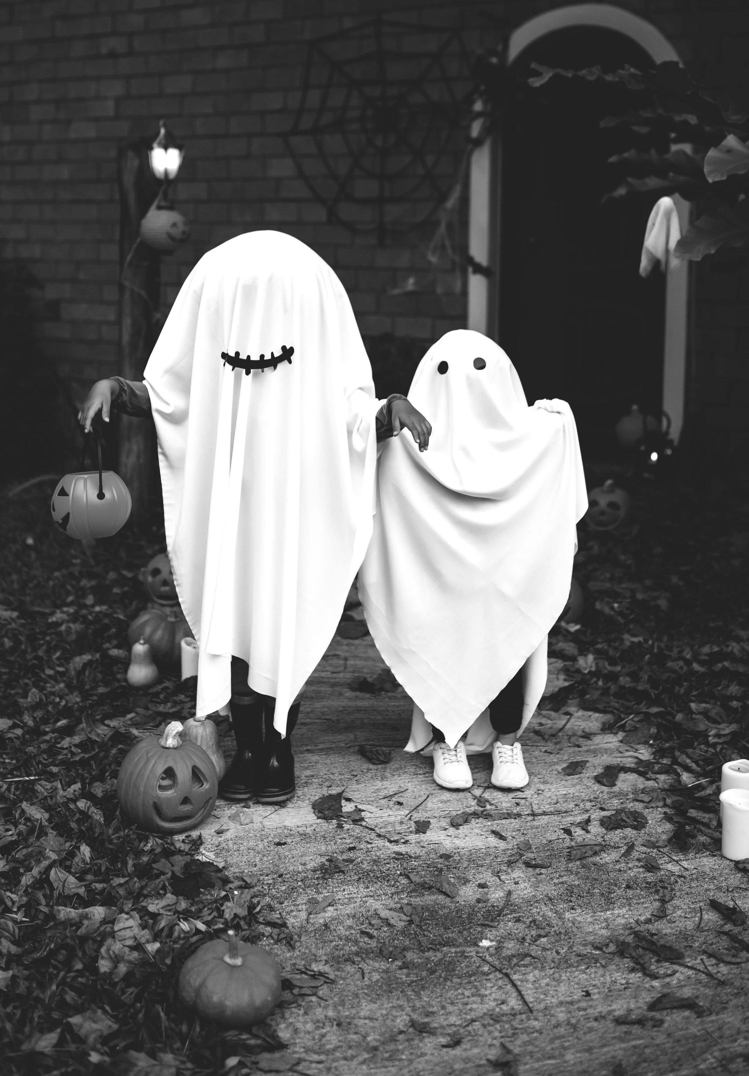 ghost, halloween