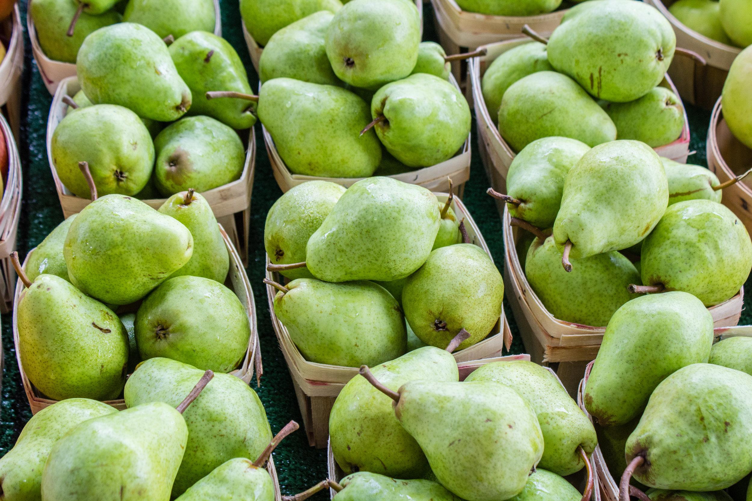 Pears -