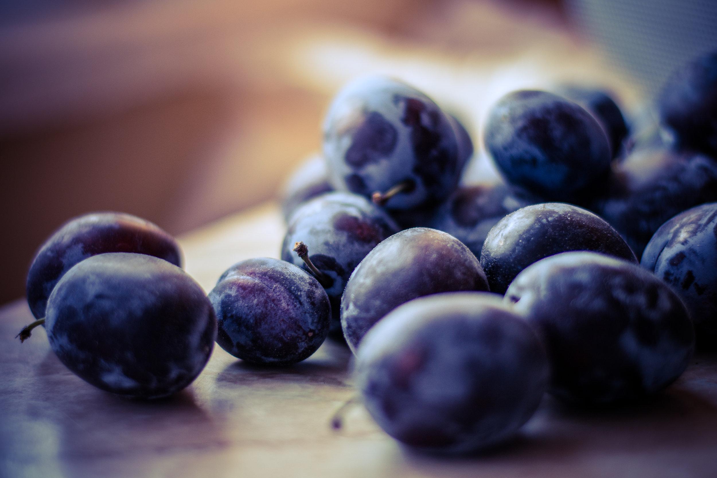 Plums & Prunes -