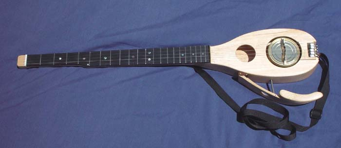 Backpacking Banjo - A banjo designed for backpacking: it weighs 3 pounds including the case. More…