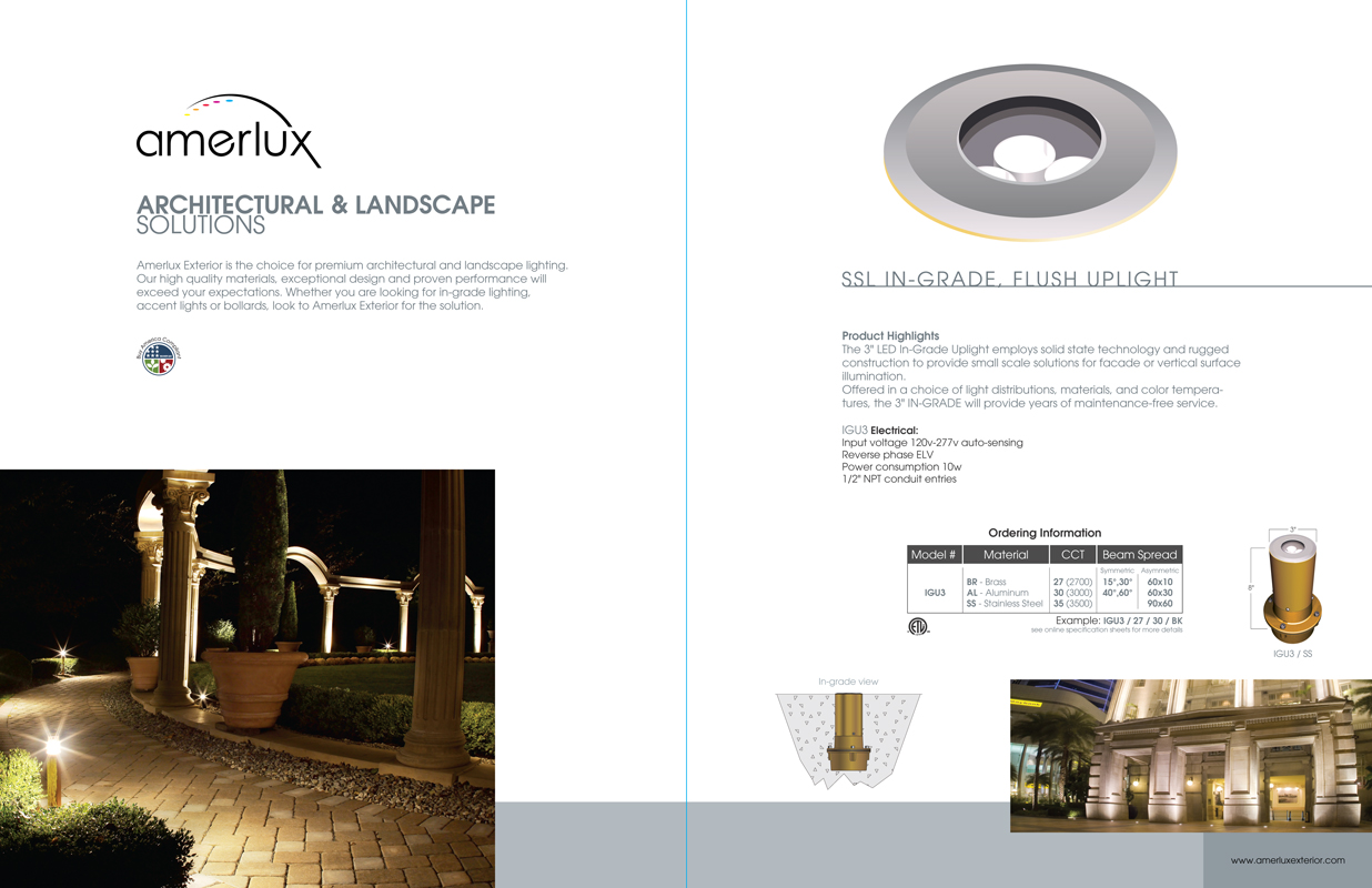 Landscape Sales Brochure Gabriel Dieter Portfolio