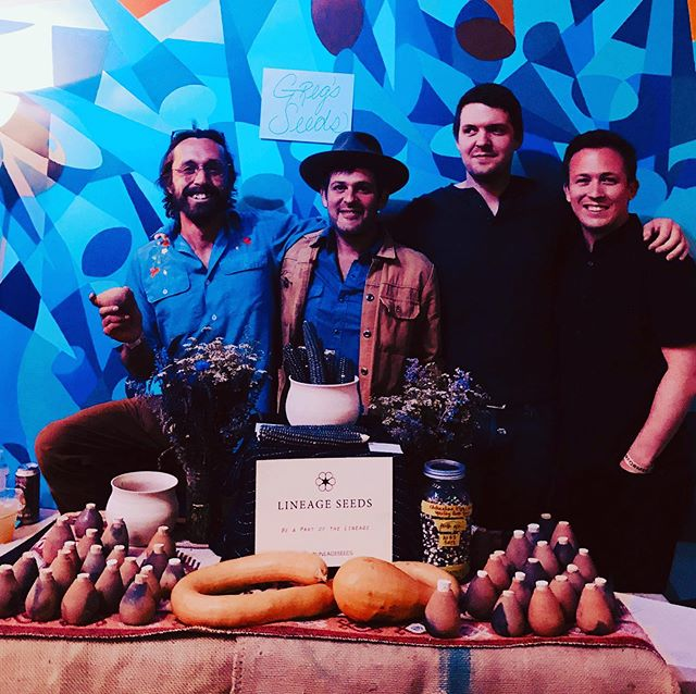 Wild... Chihuahua Blue Corn grown by @gregoryalanisakov packed in clay pots with a lineage scroll offered at two sold out shows @meow__wolf in Santa Fe.  Big thanks to everyone it took to make this happen and everyone that supported us at the show.  And thanks Greg for continuing the awesome strain of corn my teacher got from a basket in Mexico in the late 80s. Thanks for your patience as I still farm two acres for veg production and we are slowing gearing up to get seeds in pots with a scroll to as many homes possible this life.  Happy Solstice!!! - - - #lineageseeds #gregoryalanisakov #meowwolf #heirloomcorn #collaboration #innovation #oldbutnew #ceramics #pottery #organicseeds #organiclifestyle #seedsaredope #ancientfuture #microchips #lifeisawesome