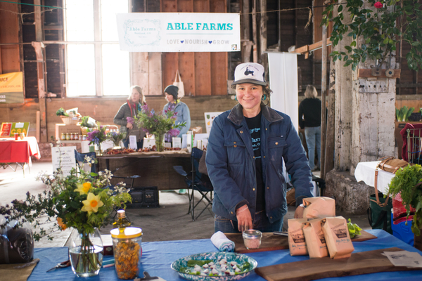 2015 CSA Share Fair. Photo by the fabulous Shawn Linehan.