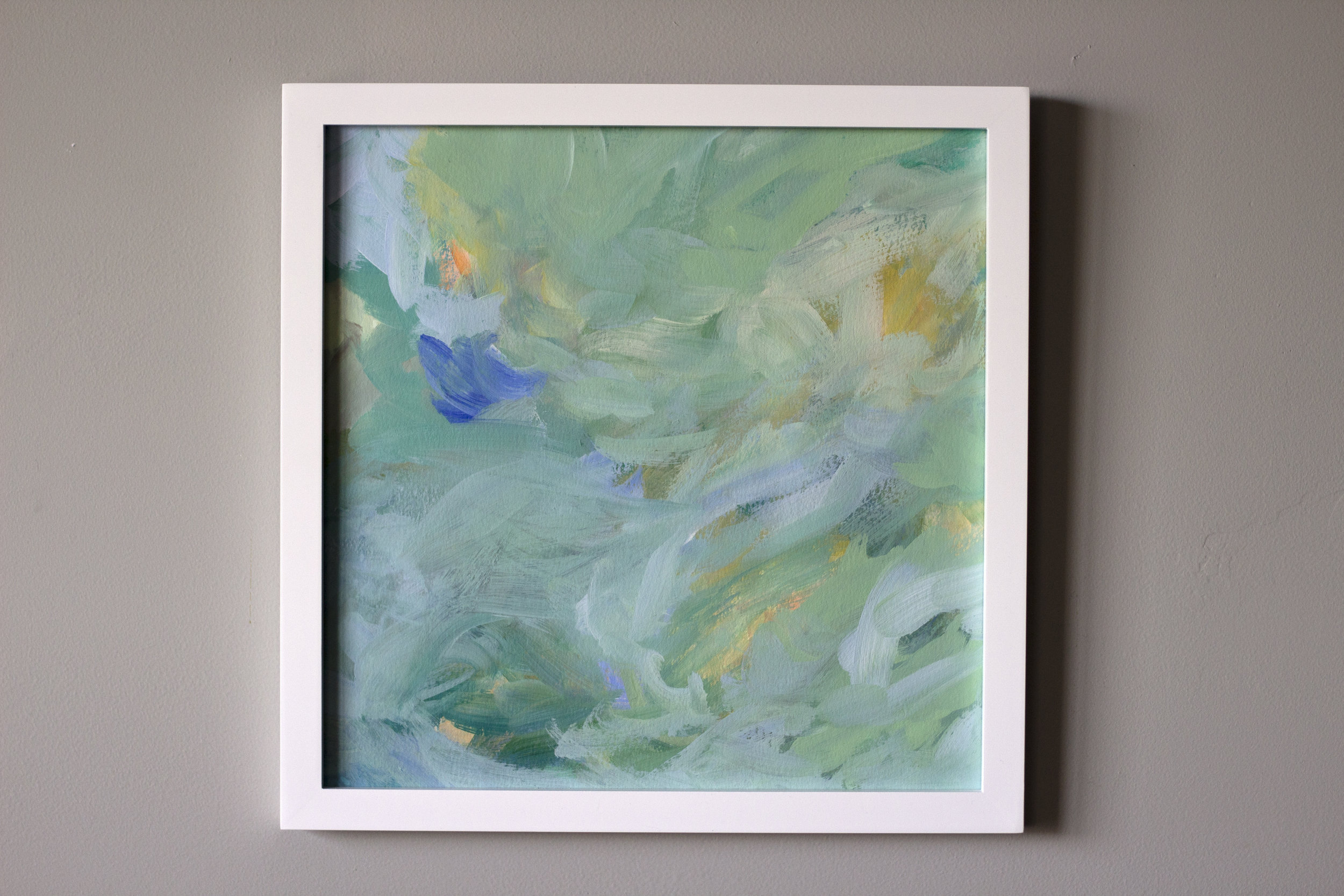 Small 12x12 inch Provence abstract painting by Stephanie Kirkland artist.jpg