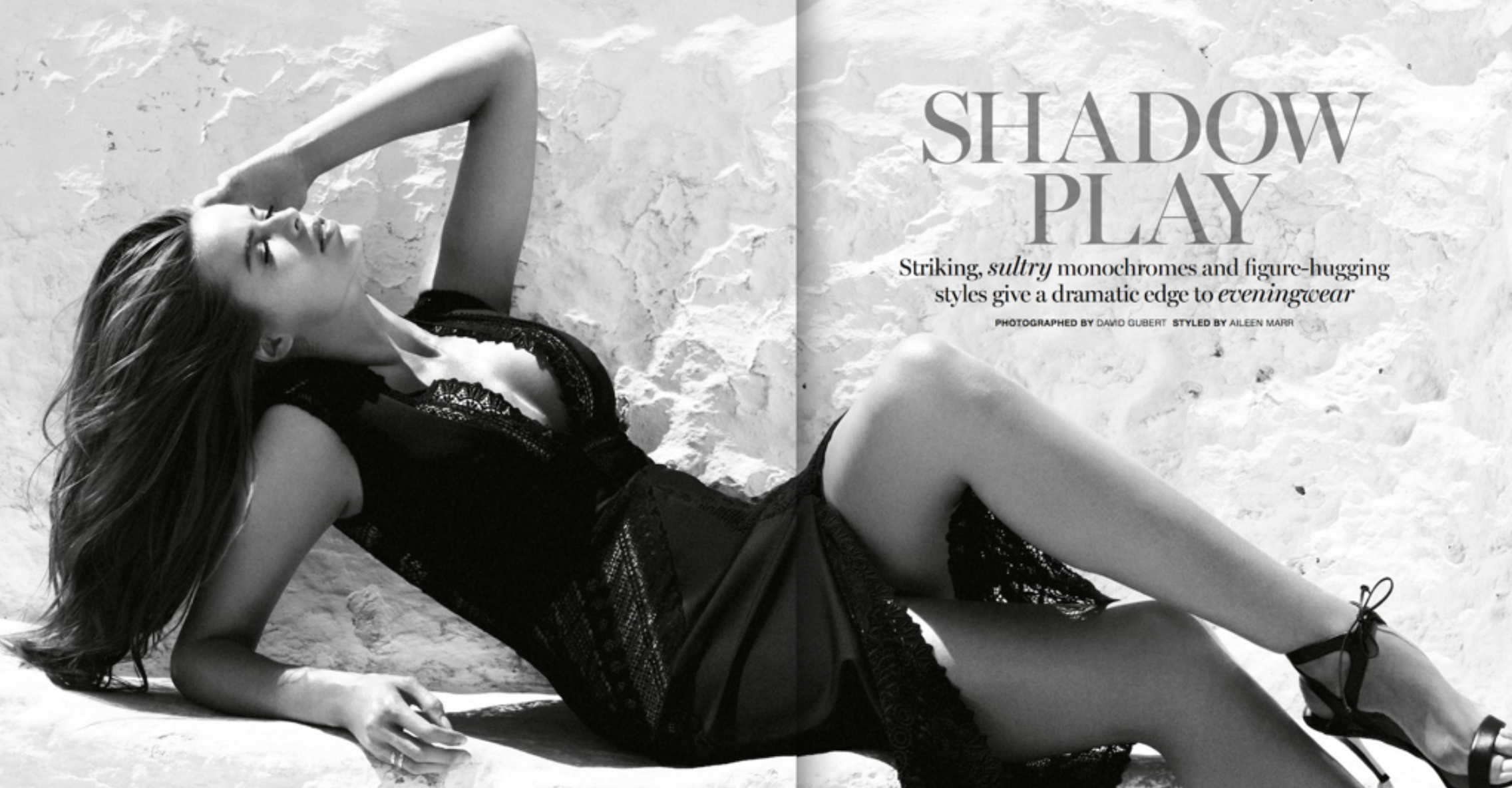 MARIE Claire MAgazine : Robyn lawley ; styled by Aileen marr