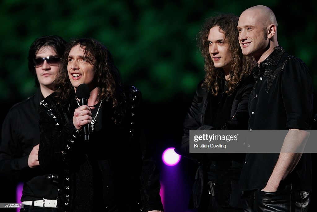the darkness mtv awards