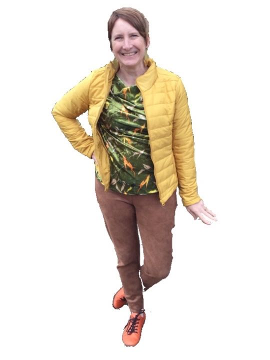 Pack - Image and Style Consultant Conference - Outfit - Green Leaf Top.jpg