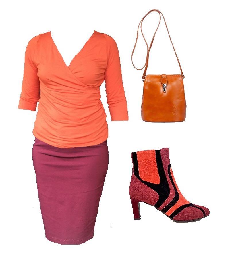 Linking Piece - Shoes - Orange and Burgundy.jpg