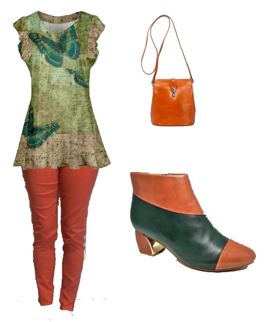Linking Piece - Shoes - Orange and Green.jpg