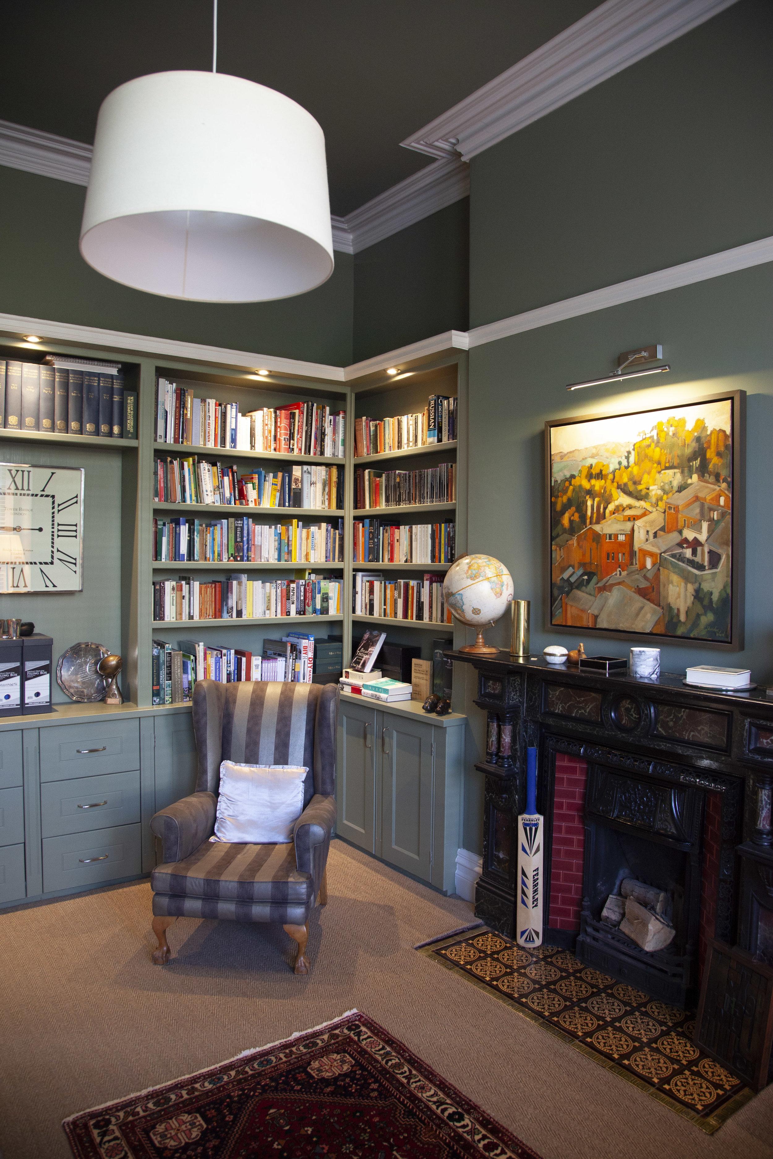Penarth - Library Alcoves
