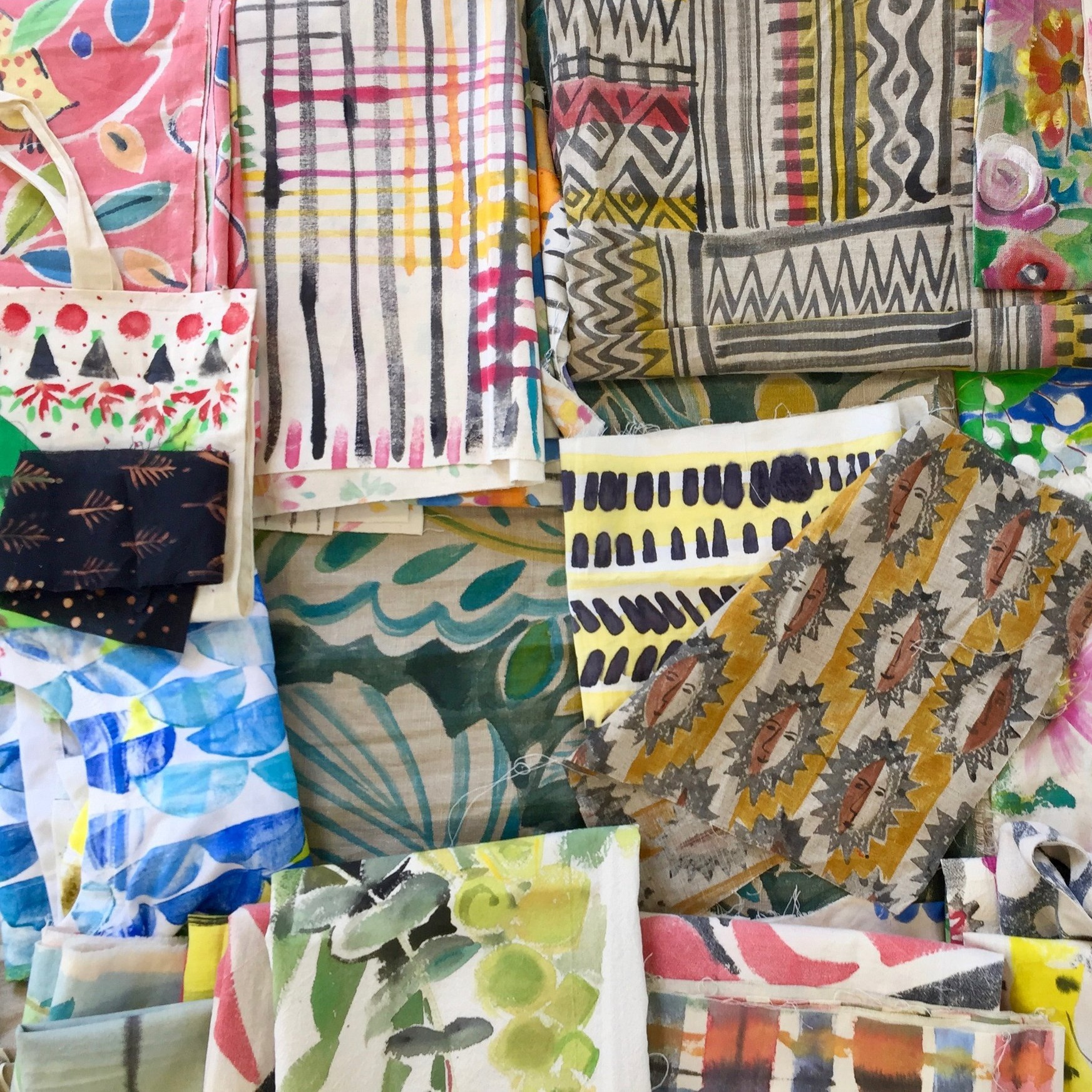 Pattern in Textiles - with Sarah Campbell August 2018