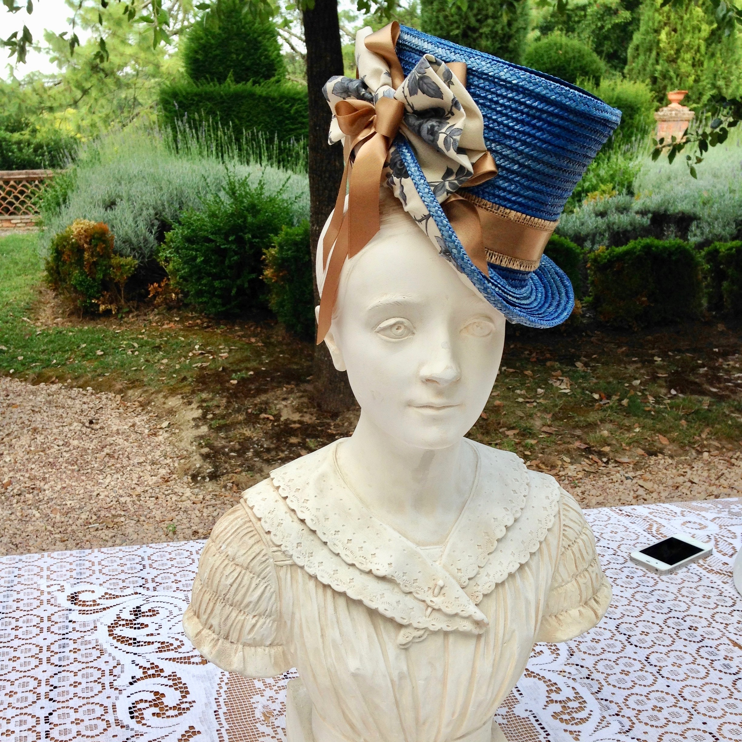 Stitched Straw Bonnets - with Jane SmithJuly 2014 & July 2018