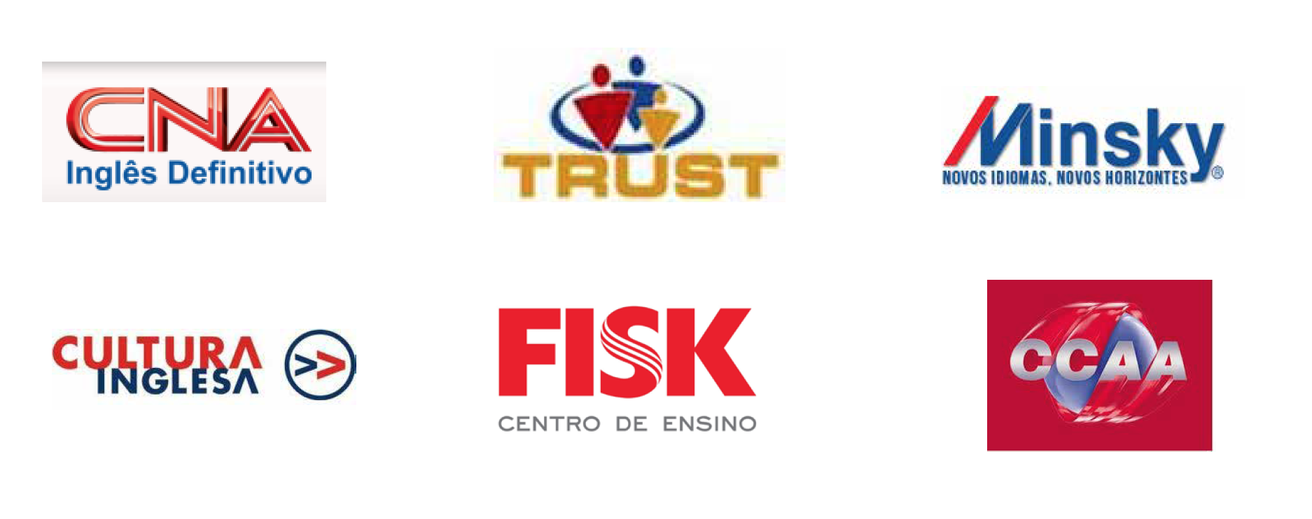Trust previous logo among other competitors in the region.