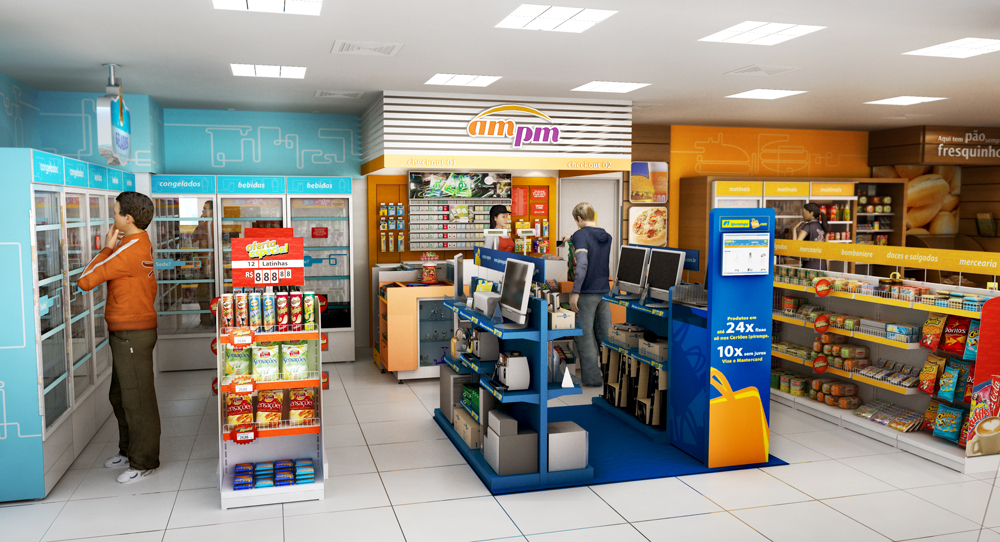 AM/PM - Retail design