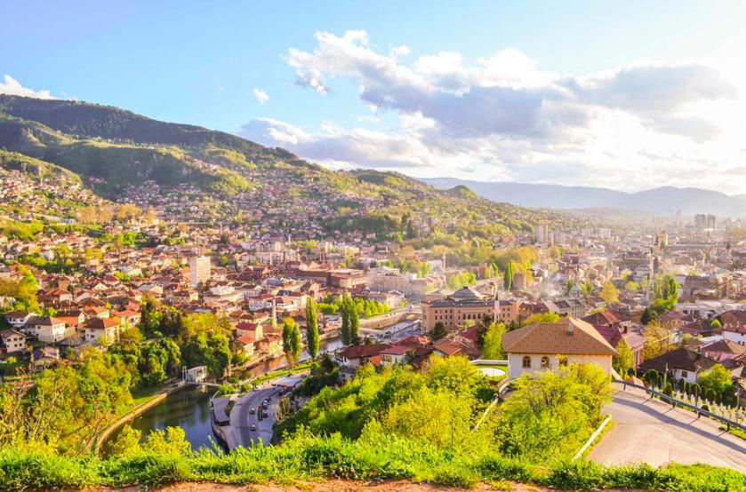 Sarajevo, el ave fénix de los Balcanes