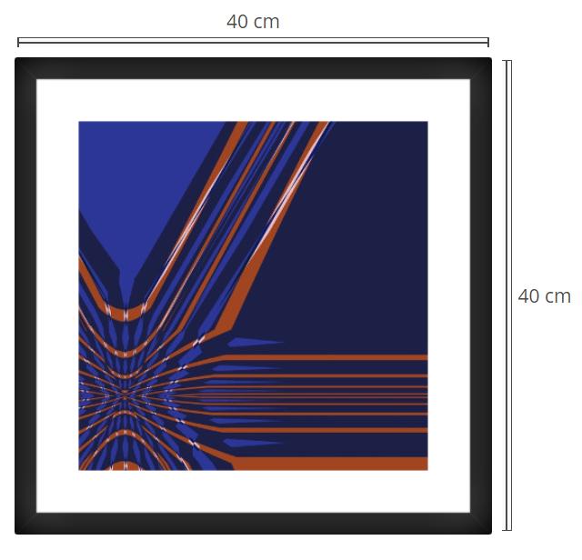 Alcor - Product: Framed PhotoPhoto Format: 40x40 cmDecor Frame: Black Matte