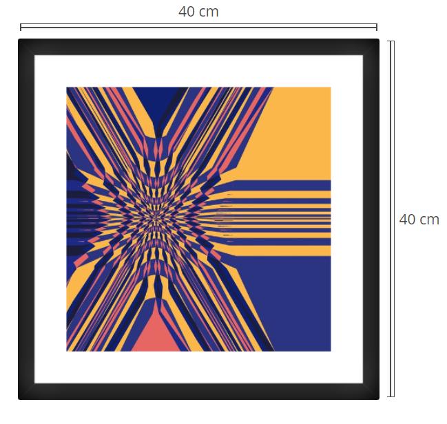 Lota - Product: Framed PhotoPhoto Format: 40x40 cmDecor Frame: Black Matte