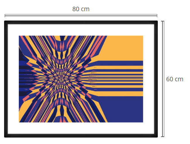Lota 3 - Product: Framed PhotoPhoto Format: 80x60 cmDecor Frame: Black Matte