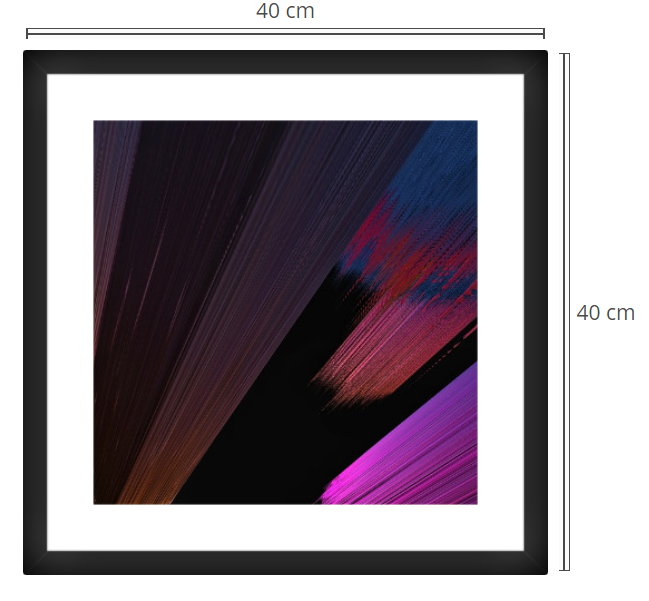 Antares - Product: Framed PhotoPhoto Format: 80x60 cmDecor Frame: Black Matte